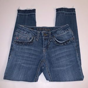 Vigoss Distressed Skinny Stretch Jeans Sz: 7